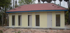 Toilet & Shower Block